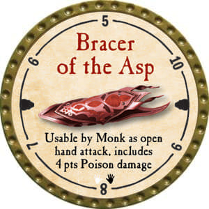 Bracer of the Asp - 2014 (Gold)