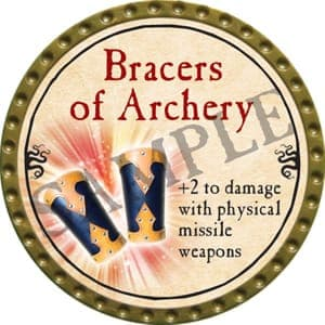 Bracers of Archery - 2016 (Gold) - C37