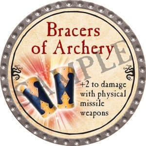 Bracers of Archery - 2016 (Platinum) - C37