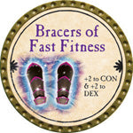Bracers of Fast Fitness - 2015 (Gold) - C1