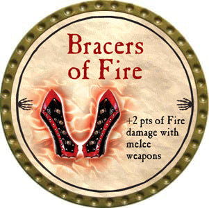 Bracers of Fire - 2012 (Gold)