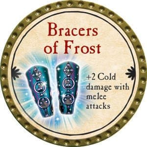 Bracers of Frost - 2015 (Gold) - C38