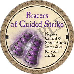 Bracers of Guided Strike - 2018 (Gold)