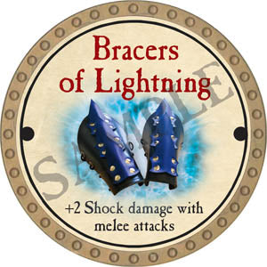 Bracers of Lightning - 2017 (Gold)