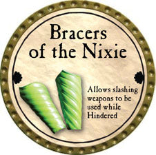 Bracers of the Nixie - 2011 (Gold)