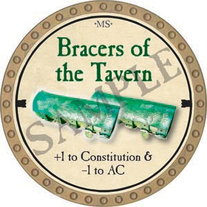 Bracers of the Tavern - 2020 (Gold) - C60