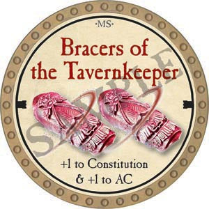 Bracers of the Tavernkeeper - 2020 (Gold) - C007