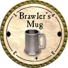 Brawler's Mug (Common) - 2011 (Gold)