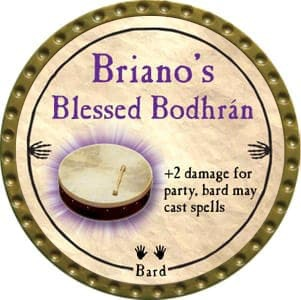Briano's Blessed Bodhrán - 2012 (Gold) - C26
