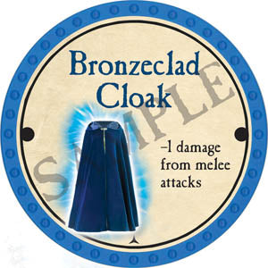 Bronzeclad Cloak - 2017 (Light Blue)