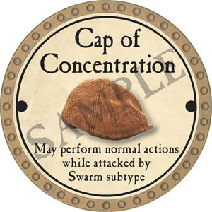 Cap of Concentration - 2017 (Gold)