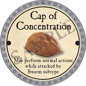 Cap of Concentration - 2017 (Platinum)