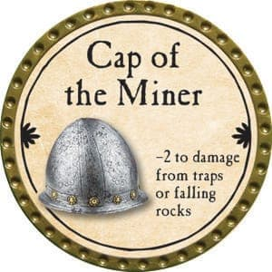 Cap of the Miner - 2015 (Gold)