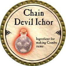 Chain Devil Ichor - 2010 (Gold) - C37