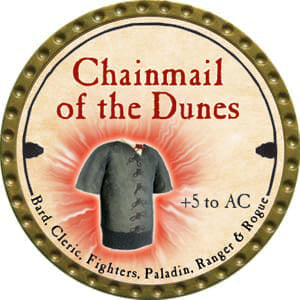 Chainmail of the Dunes - 2014 (Gold)