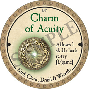 Charm of Acuity - 2019 (Gold) - C37