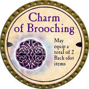 Charm of Brooching - 2014 (Gold) - C12