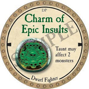 Charm of Epic Insults - 2020 (Gold)