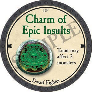 Charm of Epic Insults - 2020 (Onyx) - C37