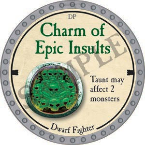 Charm of Epic Insults - 2020 (Platinum)