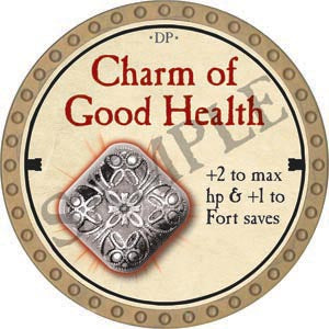 Charm of Good Health - 2020 (Gold) - C37