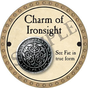 Charm of Ironsight - 2017 (Gold) - C37