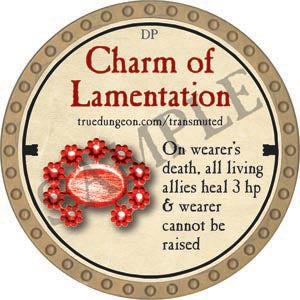 Charm of Lamentation - 2020 (Gold)