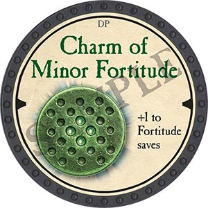 Charm of Minor Fortitude - 2019 (Onyx)