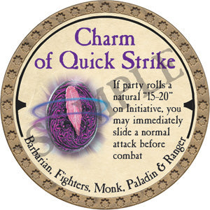 Charm of Quick Strike - 2019 (Gold)