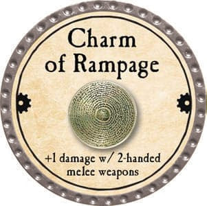 Charm of Rampage - 2013 (Platinum)