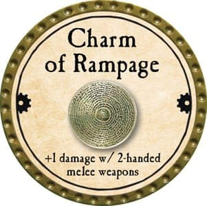 Charm of Rampage - 2013 (Gold)