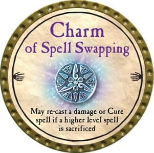 Charm of Spell Swapping - 2012 (Gold) - C57