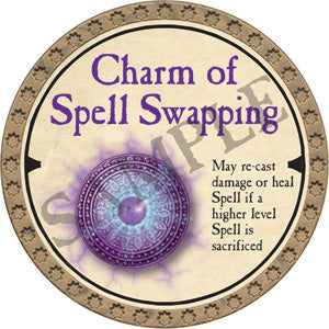 Charm of Spell Swapping - 2019 (Gold)