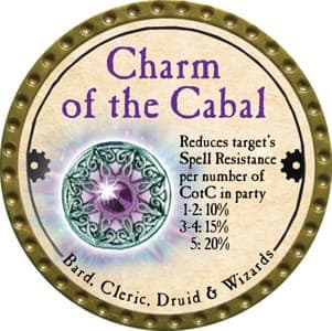 Charm of the Cabal - 2013 (Gold) - C007
