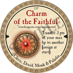 Charm of the Faithful - 2019 (Gold) - C54