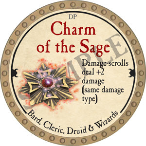 Charm of the Sage - 2018 (Gold) - C37