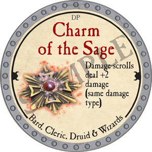 Charm of the Sage - 2018 (Platinum)