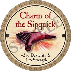 Charm of the Sipquick - 2017 (Gold)