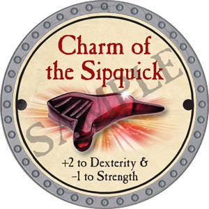 Charm of the Sipquick - 2017 (Platinum)