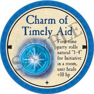 Charm of Timely Aid - 2020 (Light Blue)