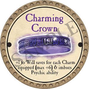 Charming Crown - 2017 (Gold) - C28