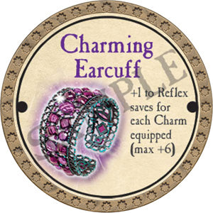 Charming Earcuff - 2017 (Gold)