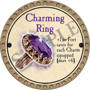 Charming Ring - 2017 (Gold)