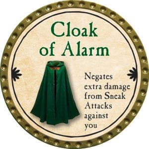Cloak of Alarm - 2015 (Gold)