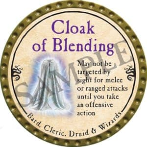 Cloak of Blending - 2016 (Gold) - C19