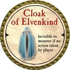 Cloak of Elvenkind - 2007 (Gold) - C49