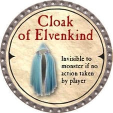 Cloak of Elvenkind - 2007 (Platinum) - C37