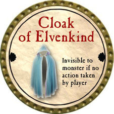 Cloak of Elvenkind - 2011 (Gold) - C37