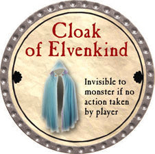 Cloak of Elvenkind - 2011 (Platinum) - C37