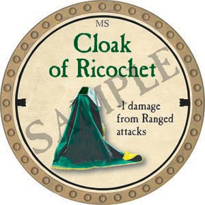 Cloak of Ricochet - 2020 (Gold)